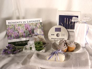 Give a DVD Movie & Picture Book - MOMENTS IN LAVENDER - Support the lasting gift of a movie or book by adding these sensory gifts to support engagement and reminiscence for a person in care. Judi Parkinson Activities  http://sharetimepictures.com.au/GIFTS.php