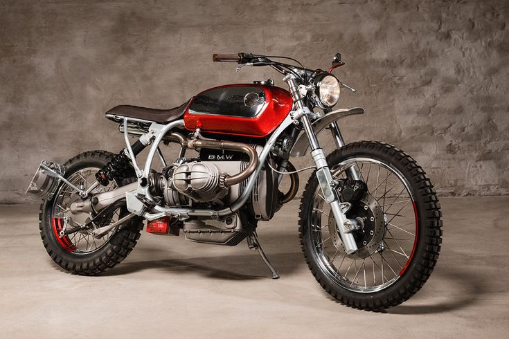 BMW R65 Cafe Racer, caferacerpasion: BMW R 100 GS Scrambler by Urban...