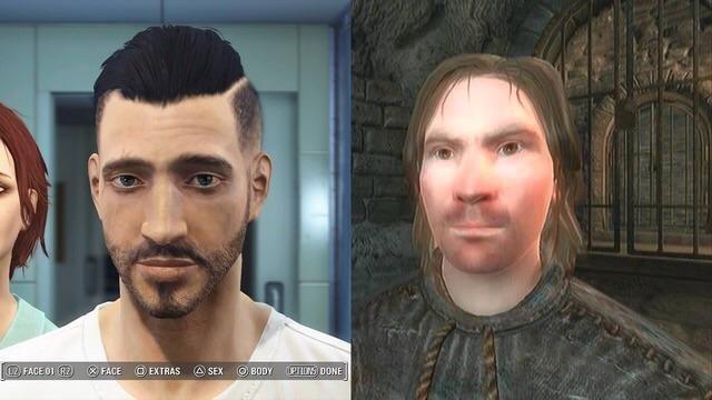 Bethesdas character creator sure came a long way