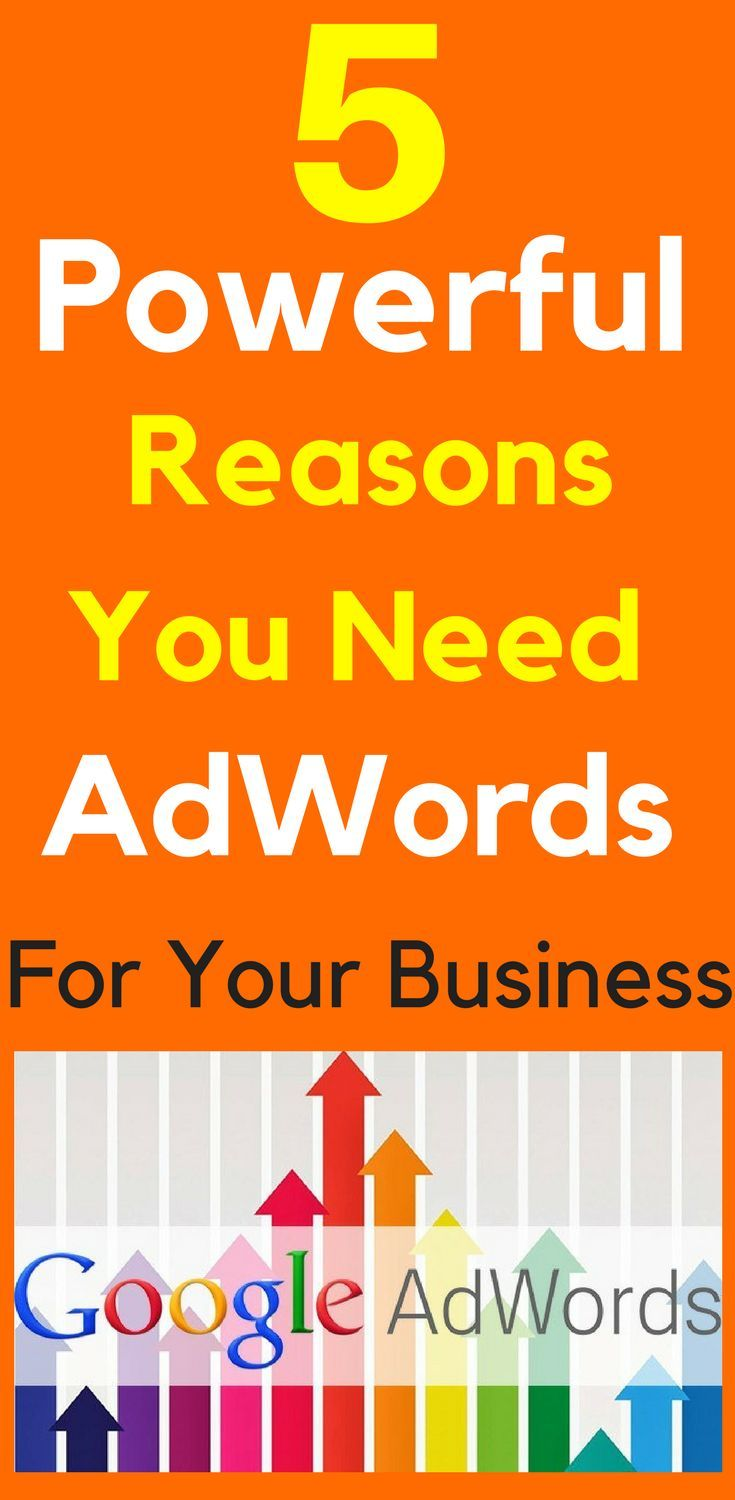 5 Powerful Reasons You Need AdWords For Your Business  What is Google AdWords and Why Do I Need It? How do you stand out from the competition and get more customers to visit your website? AdWords are the websites listed at the top and down the right side of every Google search. These are the websites that grab the searchers attention first.  5 Powerful #Reasons You Need #AdWords To Grow Your #Business  http://www.hotclicks.com.au/google-adwords-business-success/