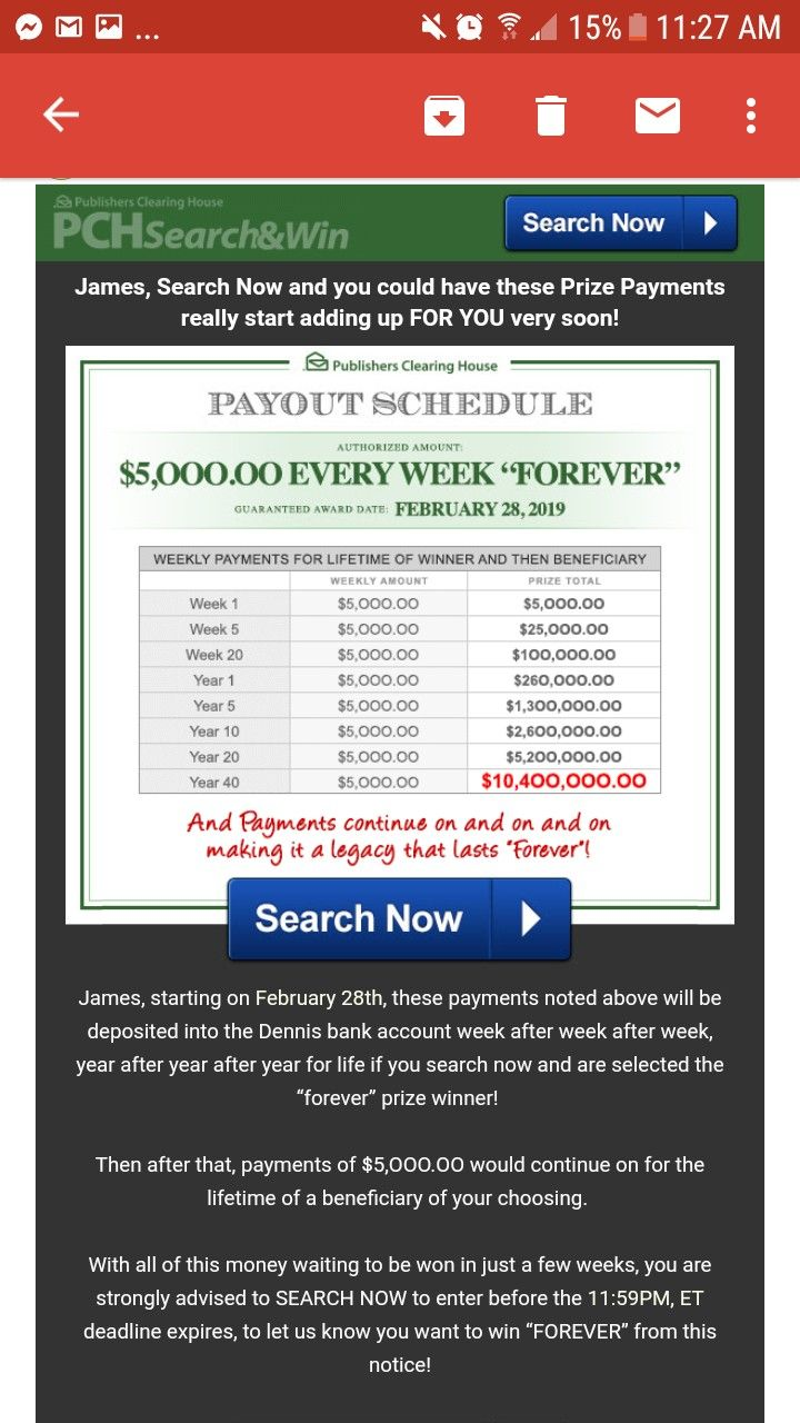 I Rosa Rojas Officially Claim My Payout Schedule $5,000 00 A