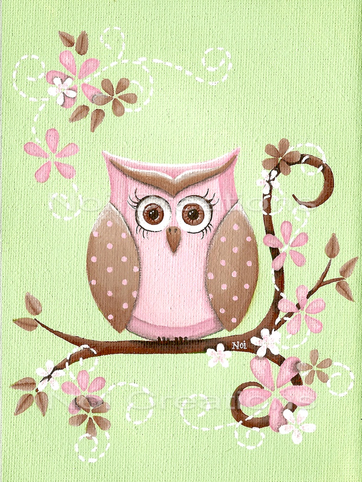 'Vintage Owl' by Erin Hughes
