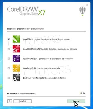 O CorelDRAW é um programa de desenho vetorial bidimensional para design gráfico desenvolvido pela Co