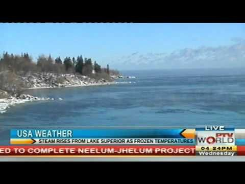 Steam Rises From Lake Superior As Frozen Temperatures USA Weather News Today January 13, 2016 - http://bestnewsarchive.ca/steam-rises-from-lake-superior-as-frozen-temperatures-usa-weather-news-today-january-13-2016/