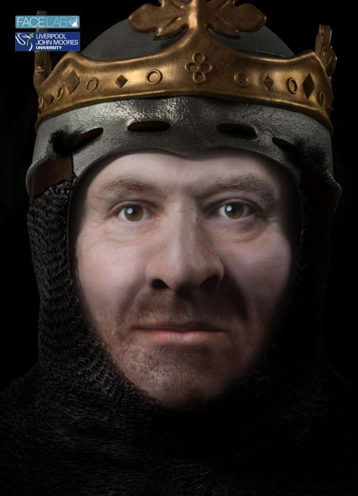 The Face Of Scottish King Robert The Bruce Has Been Digitally Reconstructed | IFLScience