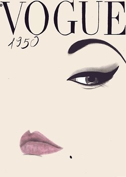 23 best covers images on pinterest magazine covers vogue covers vogue cover 1950 fandeluxe Gallery