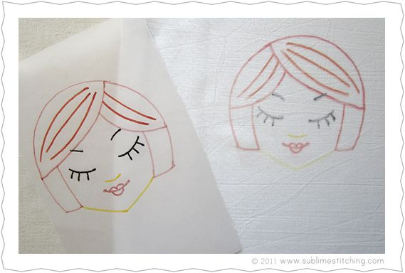Best trace patterns images on pinterest embroidery