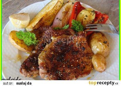 Rychlý letní oběd recept - TopRecepty.cz