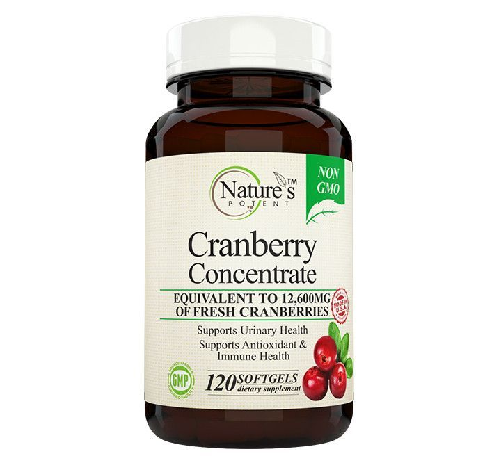 Nature's Potent™ - Cranberry Concentrate, Non-GMO Supplement