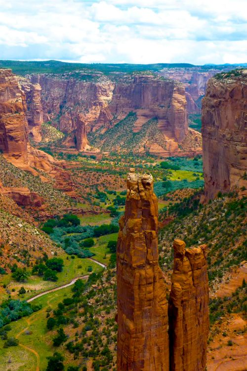 Canyon de Chelly National Monument, Navajo Nation, Arizona.