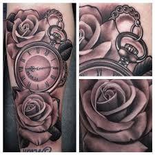 Risultati immagini per tattoo clock