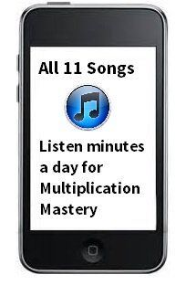 Skip counting songs are very effective for teaching multiplication. Best of all these songs teach kids about the patterns that make up multiplication.