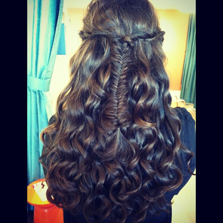 halfdo beach waves rope braids fishtail braid n