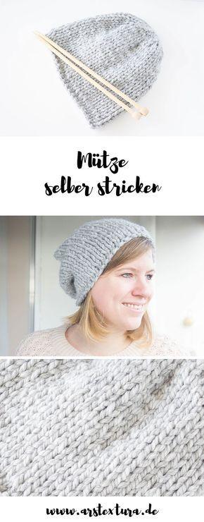 DIY Geschenke: Mütze selber stricken