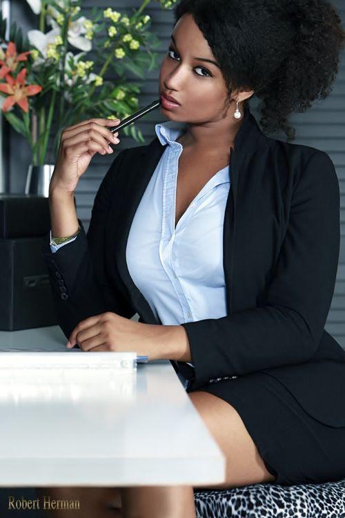 Ebony free pic secretary sexy