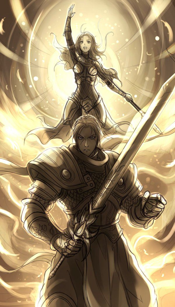 League of Legends - Garen / Lux by *El-Seluvia on ...