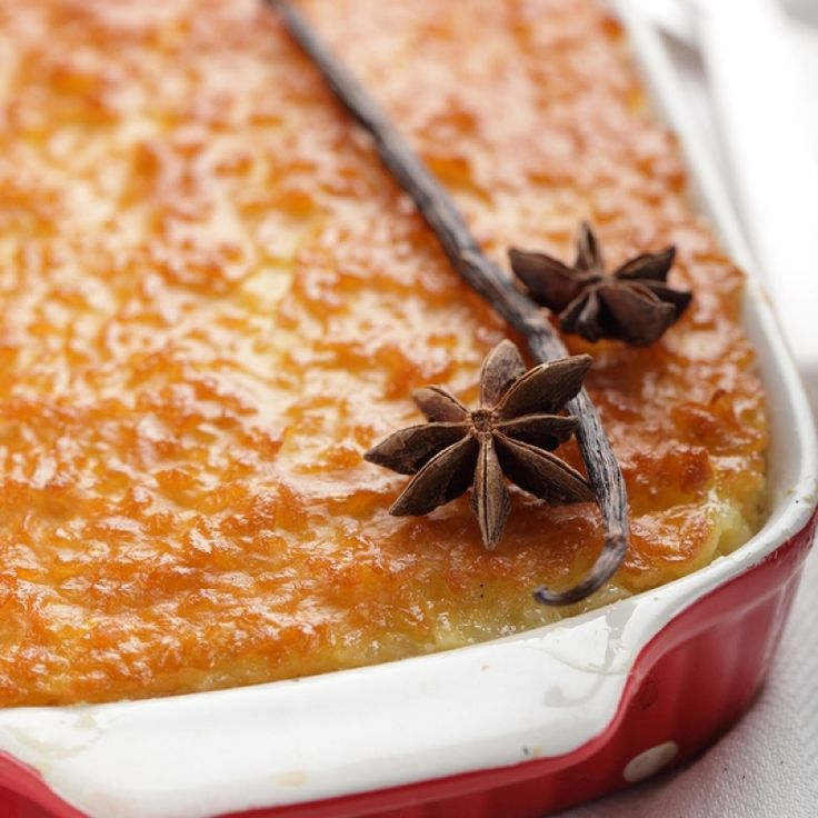 A Yummy Baked rice pudding recipe, Serve hot or cold with jam or cream.. Baked Rice Pudding Recipe from Grandmothers Kitchen.