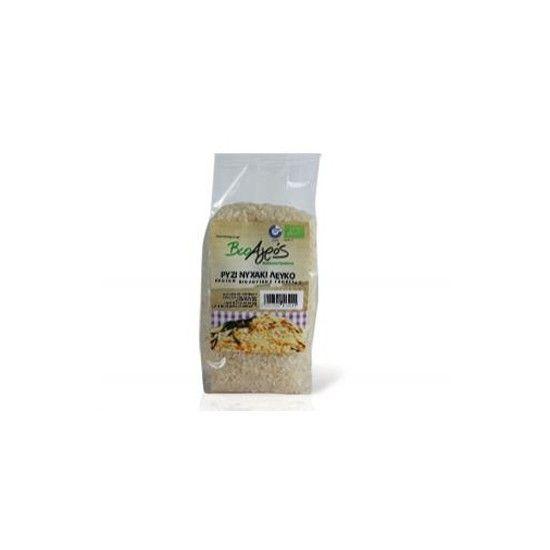 biotrofi.gr- Βιολογικό Ρύζι Νυχάκι Βιοαγρός 500 γρ. λευκό