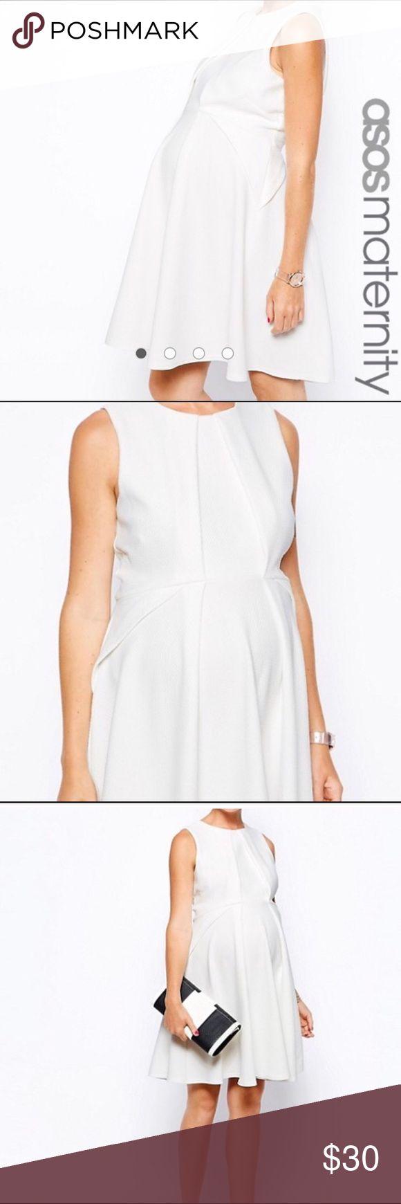 Pinterestteki 25den fazla en iyi white maternity dresses fikri white asos maternity dress ombrellifo Image collections