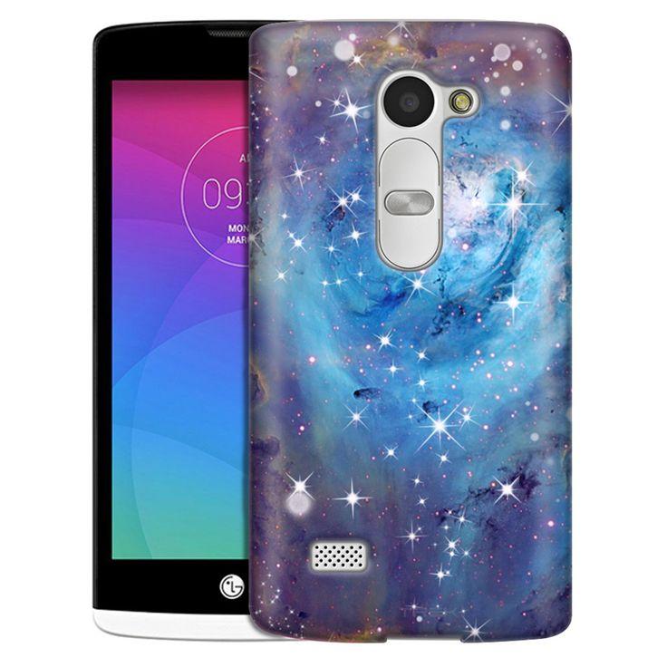 LG Leon Nebula Blue Slim Case Blue cases, Case, Lg phone
