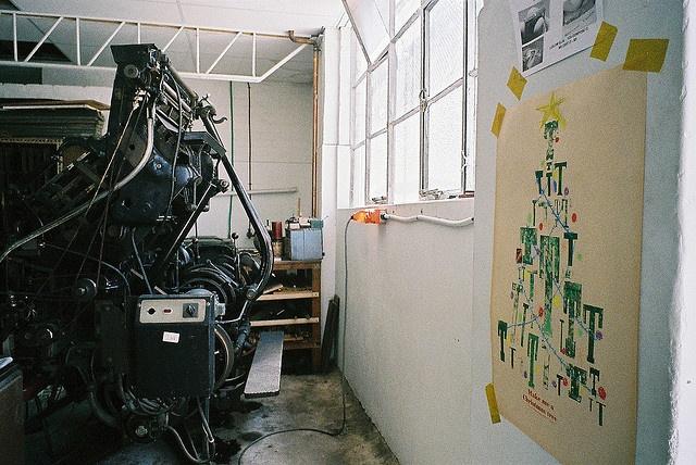 museum of printing by hiki., via Flickr