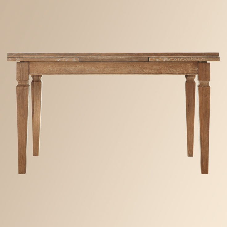 Weathered oak dining table it 39 s always smart to get for Extra small dining table