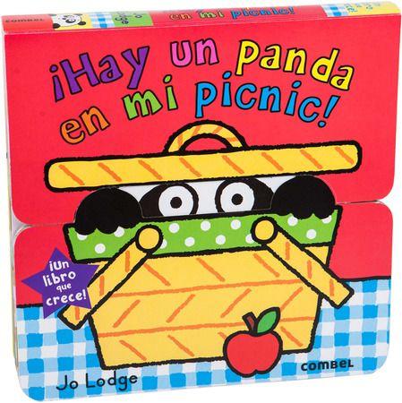 """""""¡Hay un panda en mi picnic!"""" - Lo Lodge (Editorial Combel)"""