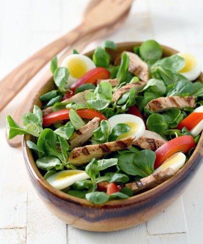 Simpele kalkoensalade #salades