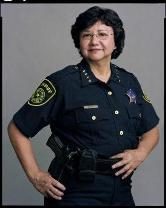 Lupe Valdez - Dallas County Sheriff also one of many guests speaking on civil rights of the LGBT Community on The Out List on HBO (2013).