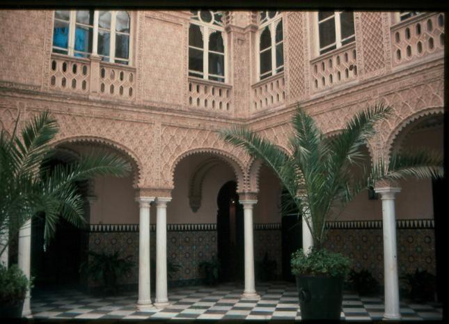 Casa-Palacio Marqueses de Solanda patio