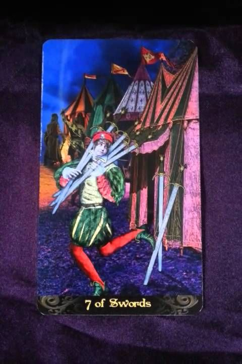 The coming week's reminder is brought to us by the Seven of Swords When we are functioning optimally, the energies it represents for us would be mindfulness ...