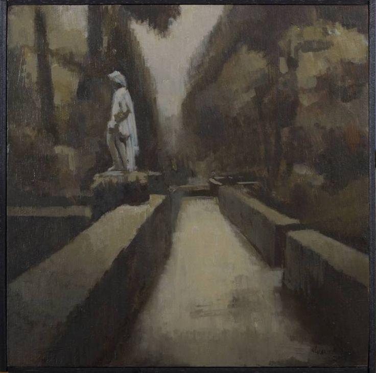 "Saatchi Art Artist Juan Manuel Álvarez Cebrián; Painting, ""Autumn II"" #art"