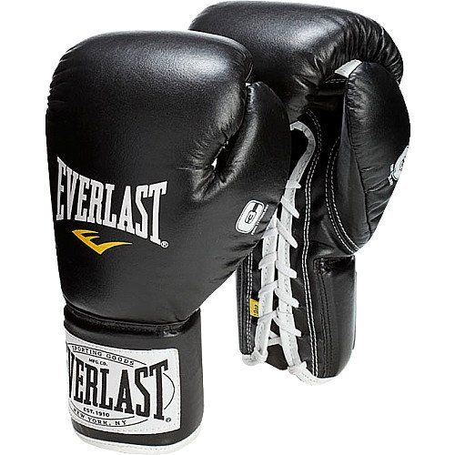 Everlast 1910 Professional Fight Gloves 10 Ounces Onsz by Everlast. $120.59. The Everlast® 1910 professional fight gloves are crafted from premium-grade leather for long-lasting durability and improved functionality. High-density closed-cell foam inhibits moisture transfer to keep the gloves lighter and drier.