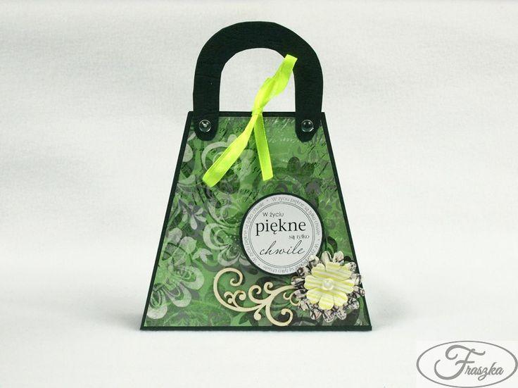 Kartka torebka / Purse card: Paper Cards, Purses Cards, Pur Cards