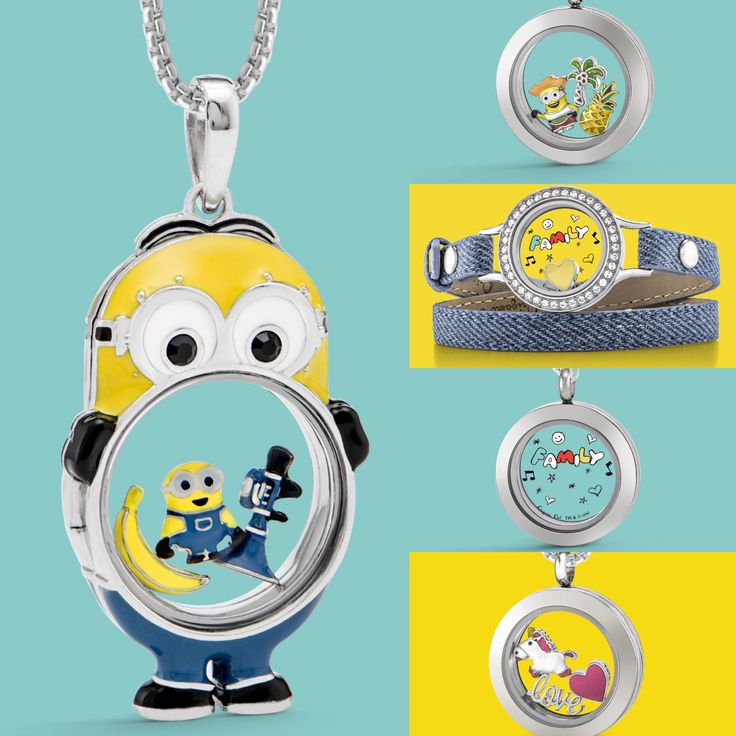 Origami Owl Despicable me 3 collection how adorable.