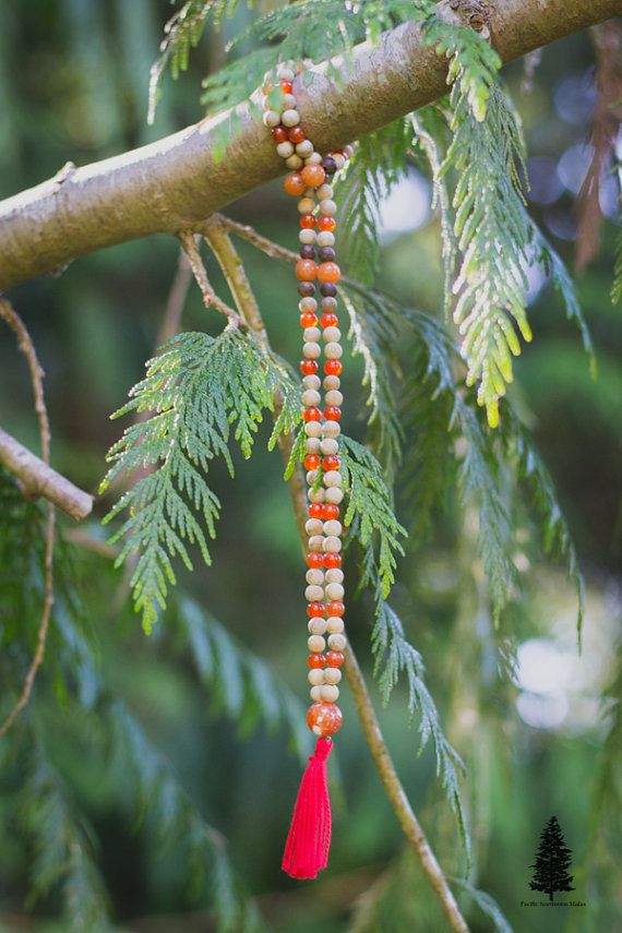 Sacral Chakra Mala   This mala is designed to help you open, balance and heal your sacral chakra during meditation or just while wearing