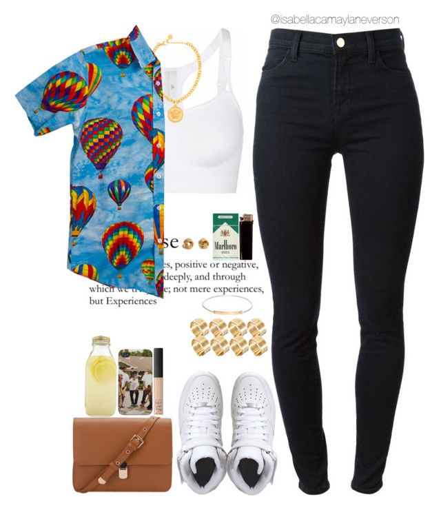 fvcking young by tyler, the creator |4|29|15 by isabellacamaylaneverson on Polyvore featuring ODD FUTURE, J Brand, adidas, NIKE, ASOS, Versace, Loren Stewart, NARS Cosmetics and Bormioli Rocco