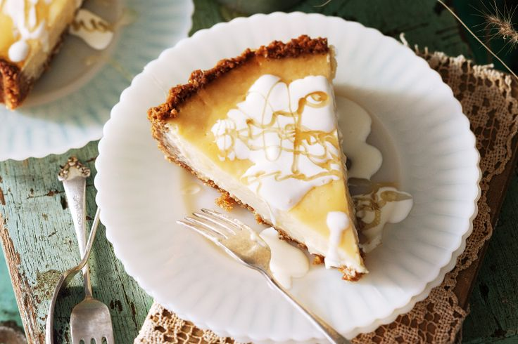 Lemon & honey Anzac tart    This sweet tart with a buttery Anzac biscuit base is filled with a creamy centre of lemon and honey.