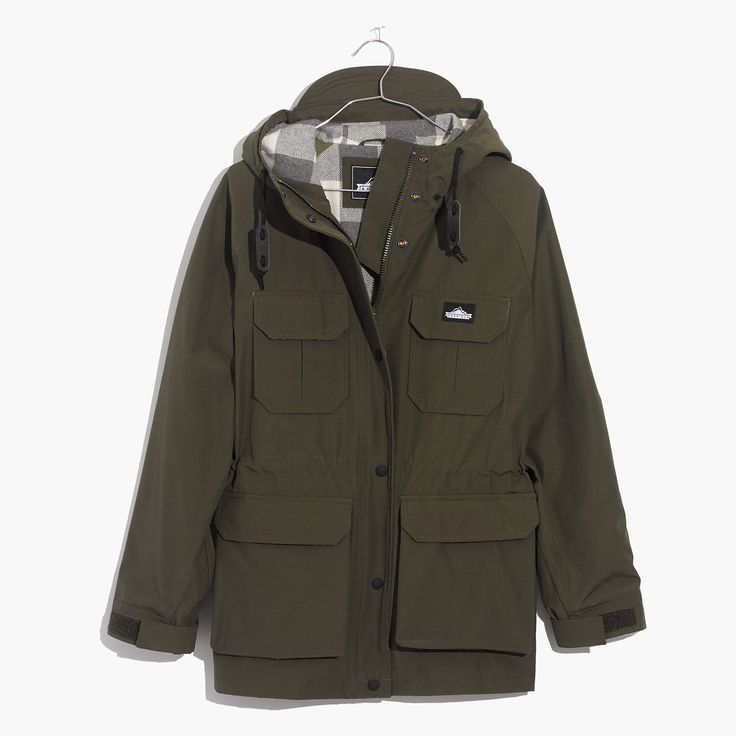 Madewell Womens X Penfield Kasson Jacket In Olive — recently purchased this amazing jacket. <3