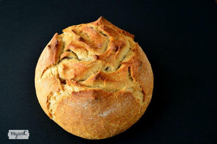 Pan integral rápido en Mycook - http://www.mycookrecetas.com/pan-integral-rapido-en-mycook/