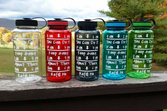 Personalized Water Bottle with FREE shipping. Pin it to save for later!