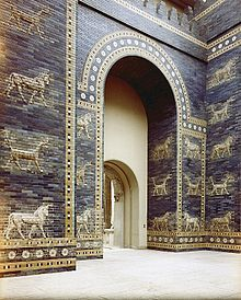 Module 02/-The Gate of Babylon, It was made in honor of Ishtar. Ishtar was the Babulonians goddess of war and sexual love.