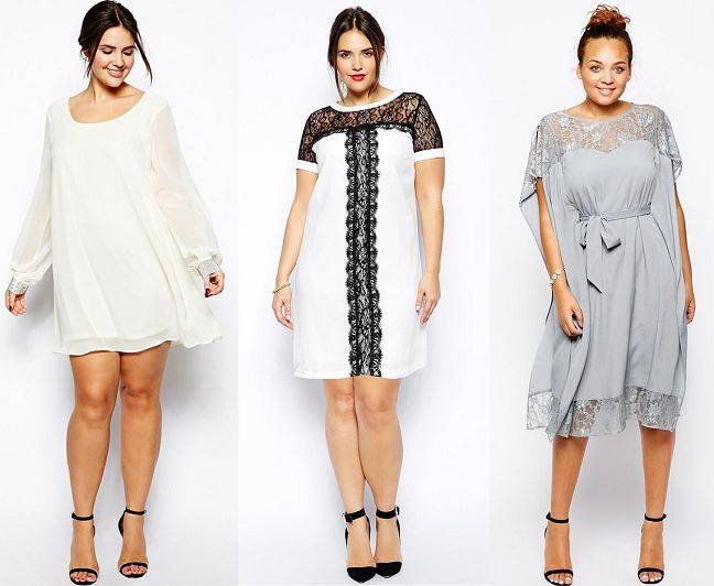 Gathering the most fabulous fashion finds for those a little more fabulous: Shapely Chic Sheri - 50 Plus Size Holiday Dresses