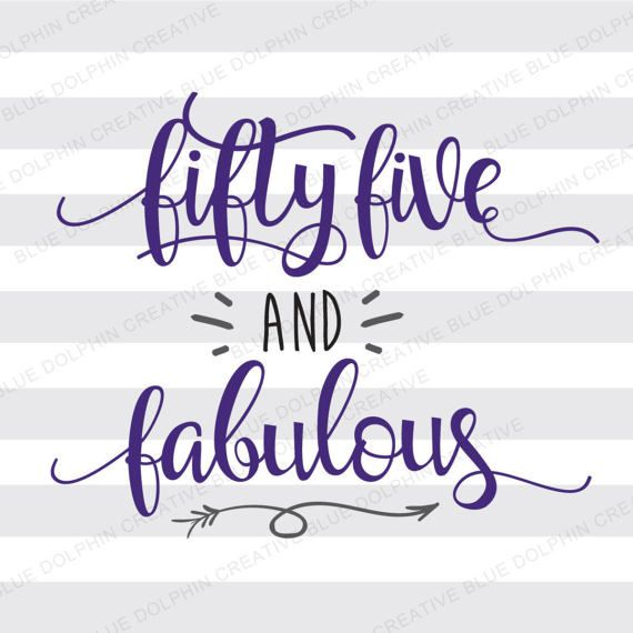 Get Five And Fabulous Cut File PNG