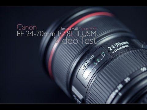 Объектив Canon EF 24-70mm f/2.8L II USM ―  Fotofishka.ru - интернет магазин фототехники