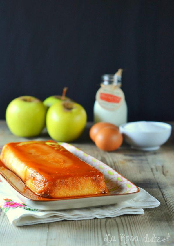 Flan de manzana de Carme Ruscalleda sin lactosa