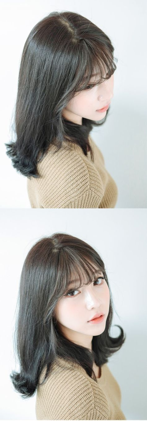Haircut korean bangs hair colors 61 ideas