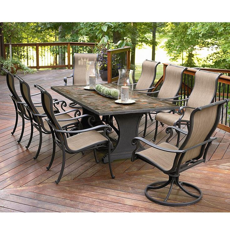 Outdoor Dining Patio Furniture best 25+ agio patio furniture ideas only on pinterest | interior