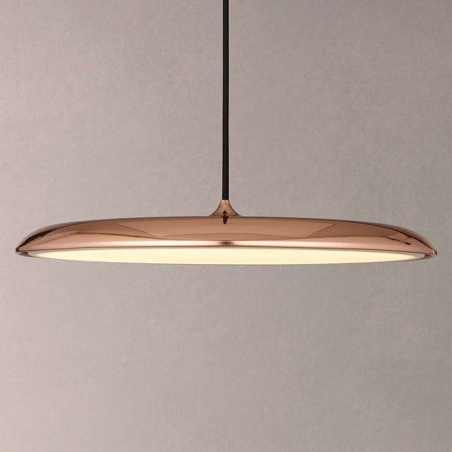 BuyNordlux Artist LED Large Pendant Light, Copper Online at johnlewis.com