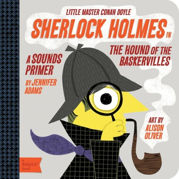 Sherlock Holmes for Littles | at Darling Clementine